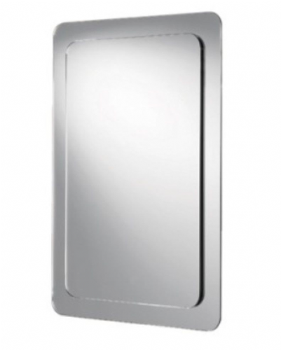 Hib Abbi Mirror On Mirror, Landscape or Portrait, With Bevelled Edge